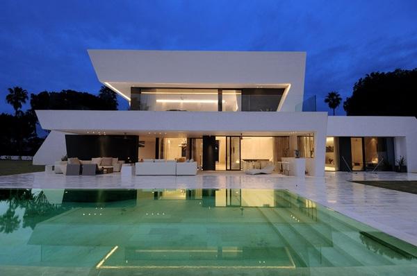 Жилые дома потрясающий современный