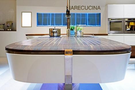Кухня в морском стиле «Marecucina» от Alno
