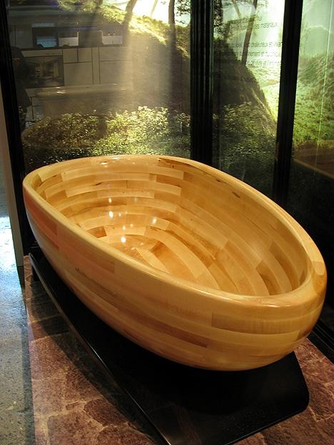 Деревянная чаша ванны от MAAX