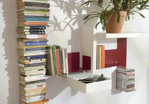 Невидимые  книжные полки от TEEbooks