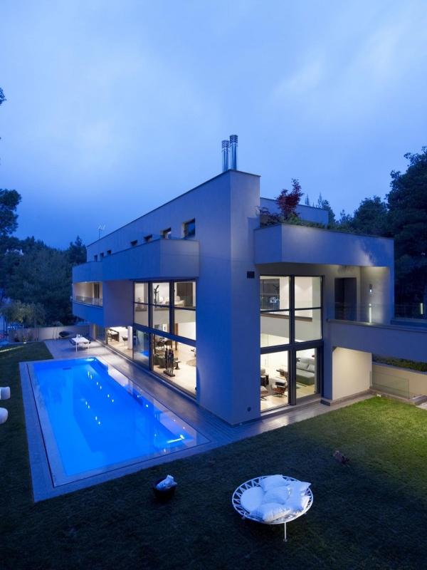 Дом в Dionysos от Nikos Koukourakis