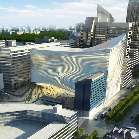 Проект арт-центра в Гааге от Zaha Hadid Architects