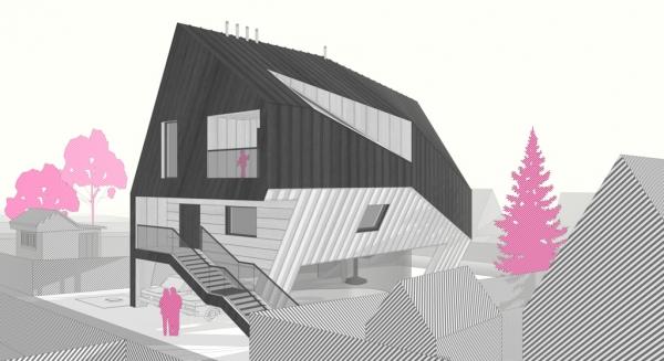 Дом «Раскоряка» от Владимира Зотова
