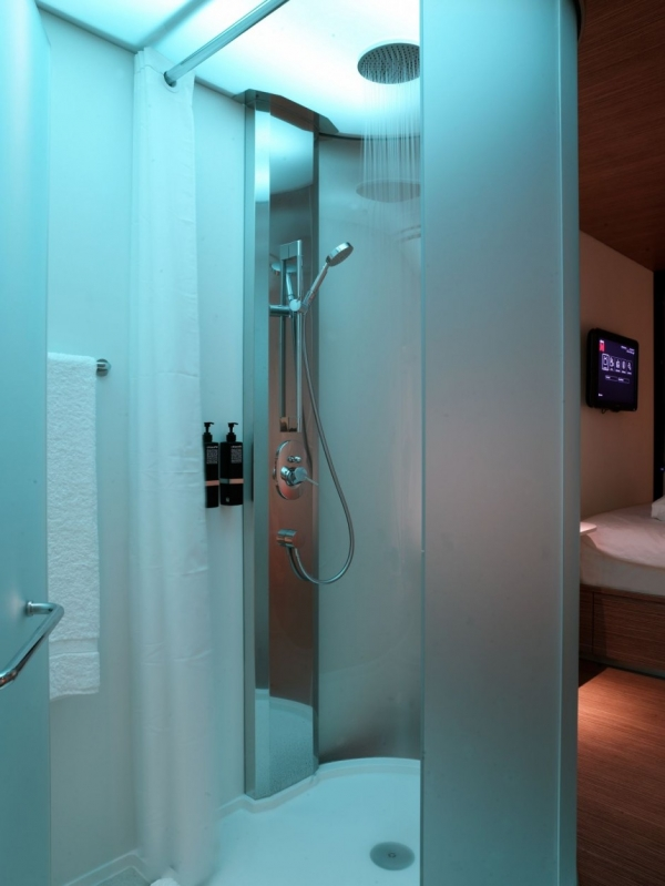 Интерьер гостиницы citizenM Hotel от Concrete Architectural Associates