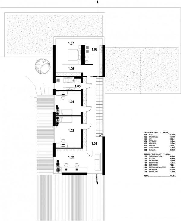 Проект двухэтажного дома от formodesign