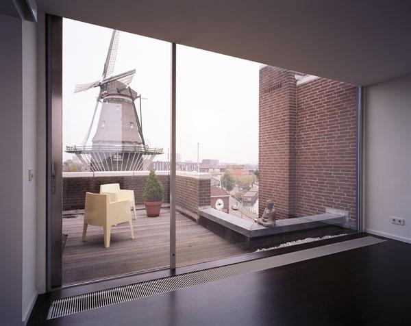 Интерьер небольшой квартиры в Амстердаме