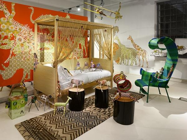 Интересные детские комнаты от Mimolimit