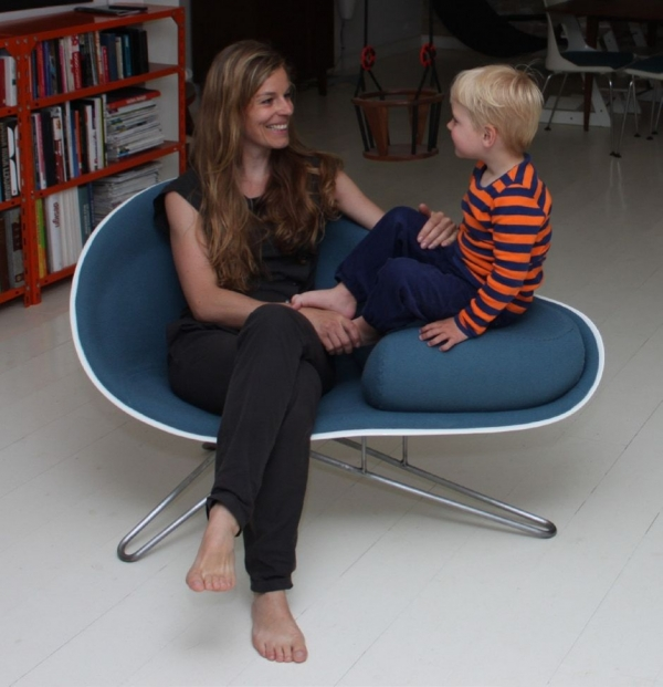 Кресло «Mussel» от Hanne Kortegaard