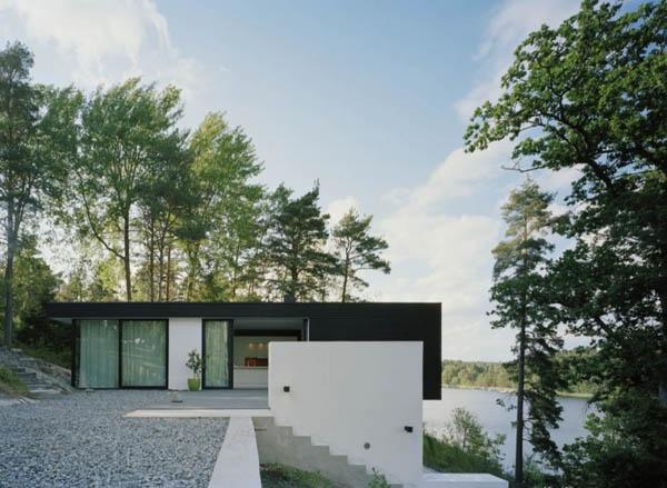 Летний дом в Швеции от Widjedal Racki Bergerhoff Architects