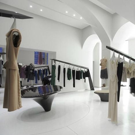 Интерьер для дома моды Alberta Ferretti от Sybarite