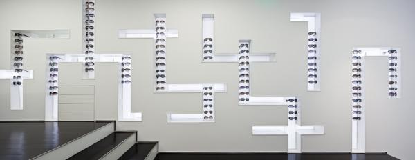 Интерьер магазина оптики в Лиссабоне от Jorge Sousa Santos