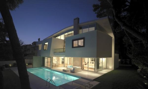 Дом в Греции от Thanos Athanasopoulos