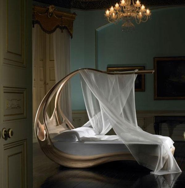 Кровать с балдахином для королевского сна