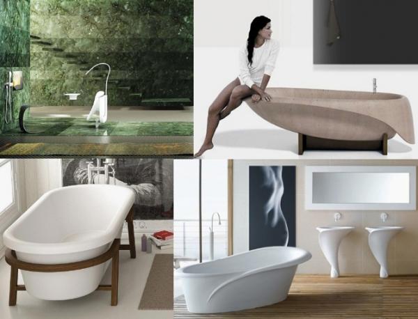 Новинки дизайнерских ванн
