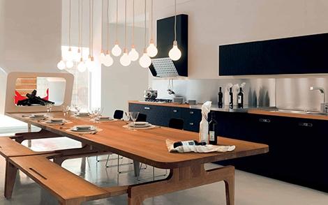 «Городские» кухни от Schiffini