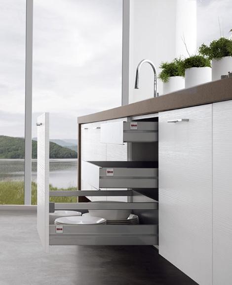 Современные кухни без верхних шкафов от Treo