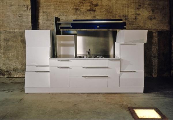 Кухни в стиле лофт от Jo Wynant