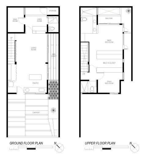 Компактный дом в Индонезии от Atelier Riri