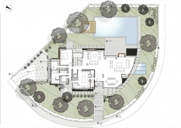 Шикарная открытая вилла от Klab Architects
