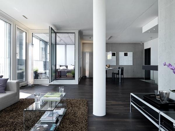Интерьер квартиры от Daniele Claudio Taddei