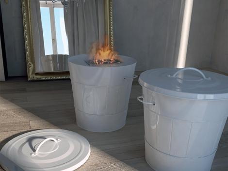 Камин — корзина от Maison Fire