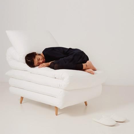 Кресло для сна от Daisuke Motogi Architecture