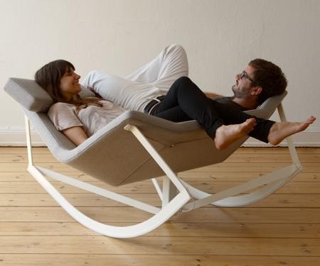 Современное кресло-качалка от Markus Kraus