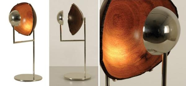 Деревянная лампа от Espasso