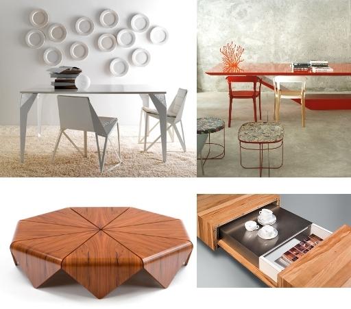 Образы гостеприимства: новинки столов и столиков