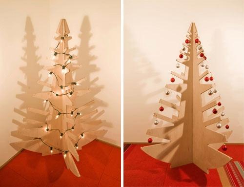 Фанерная елка