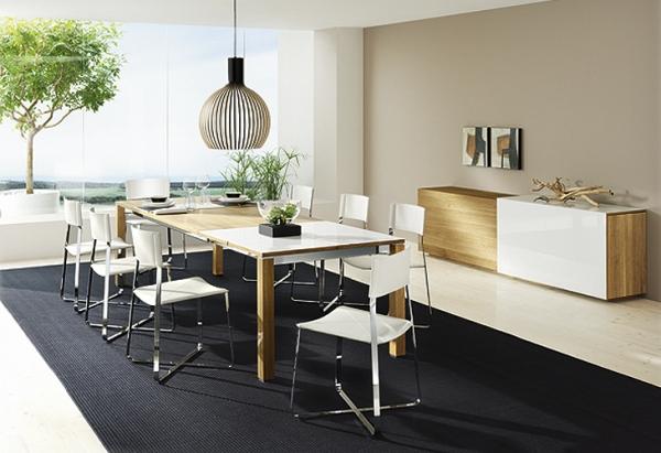 Современная мебель для гостиной от Team 7