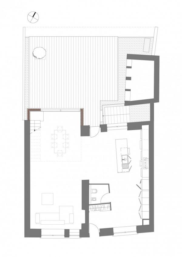 Реконструкция деревенского дома от L'Autre Fabrique Architectures