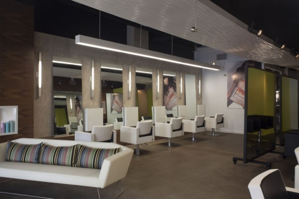 Салон-парикмахерская Propaganda от Dick Clark Architecture