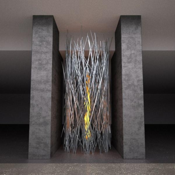 Современные камины от Elena Colombo