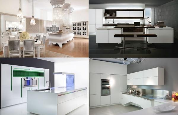 Роскошные кухни - современные, классические и необычные