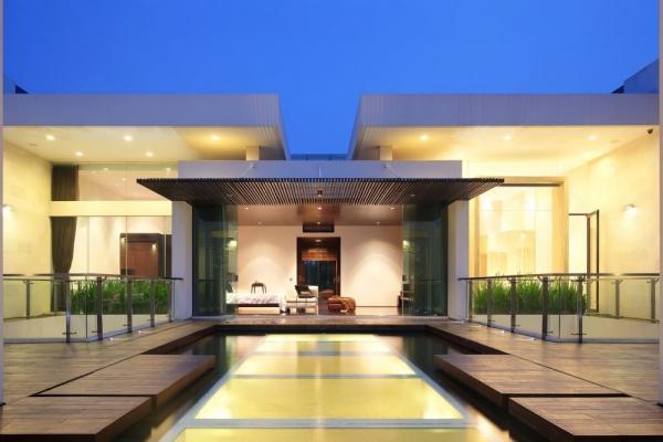 Дом с внутренним садом от TWS & Partners