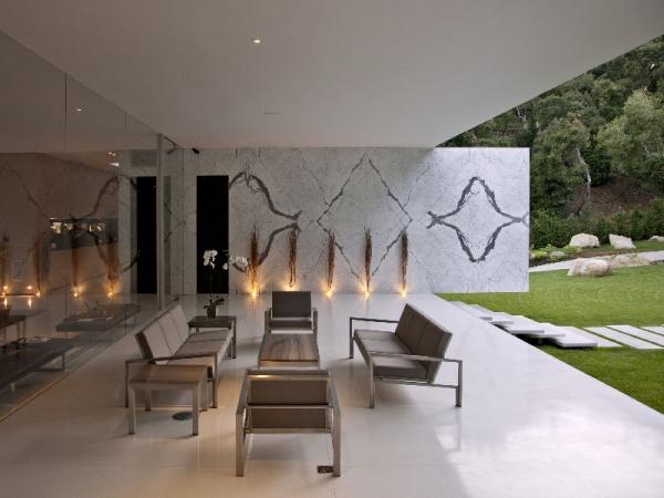 "Потрясающий ""стеклянный павильон"" от Steve Hermann Architect"