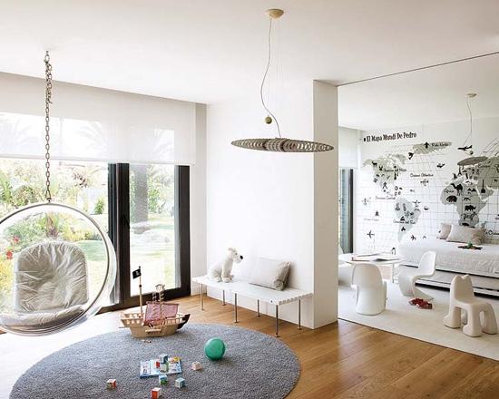 Интерьер комнаты для самых маленьких