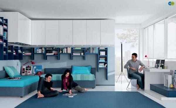 Мебель для подростковых комнат от MisuraEmme