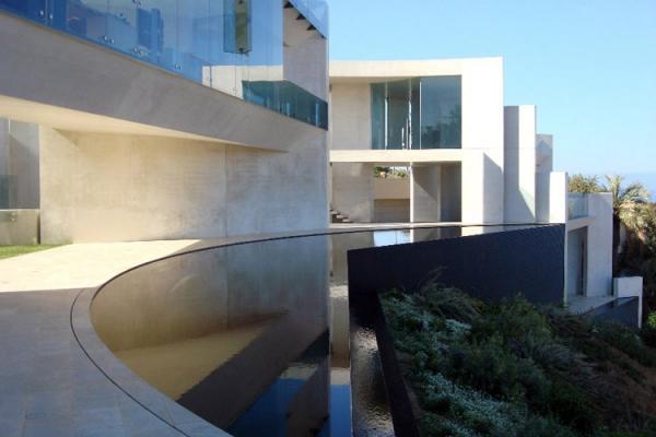 Вилла - шедевр в La Jolla в Калифорнии