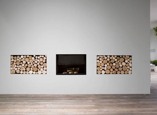 Необычные камины и идеи применения от Antonio Lupi