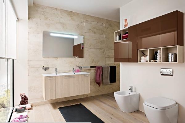 Идеи интерьера для ванной комнаты. Часть 2.