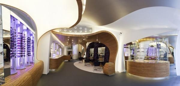 Магазин оптики Hofstede от Alexander Nowotny