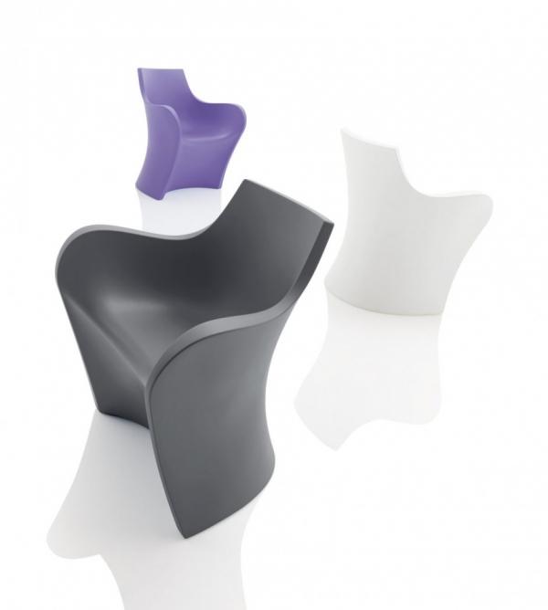 WOOPY - новинка кресел и барных стульев от Карима Рашида