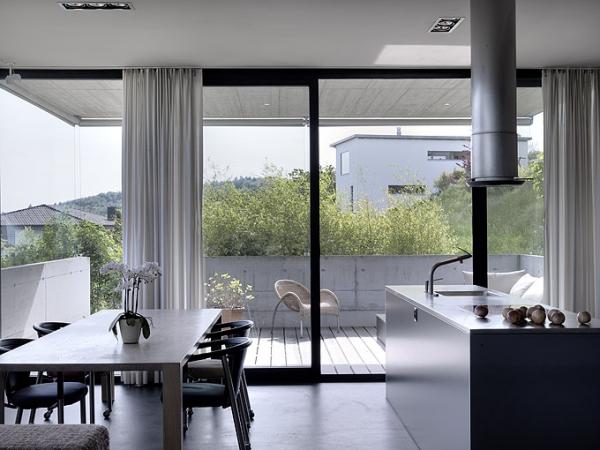 Минималистский бетон - дом Szelpal от Felber Architects