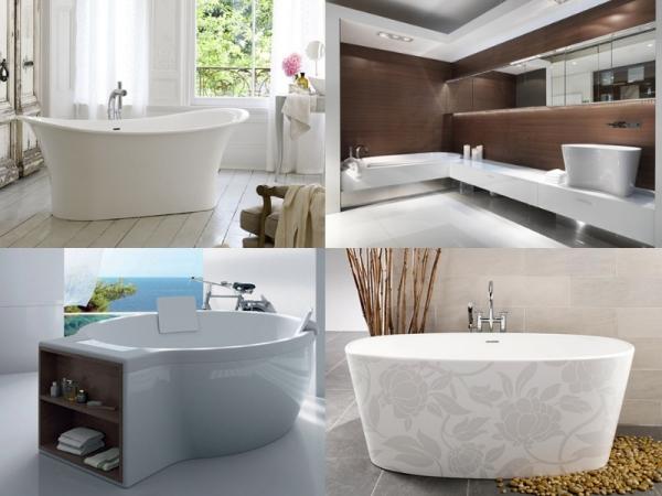 Дизайнерские ванны - 4 новинки сезона