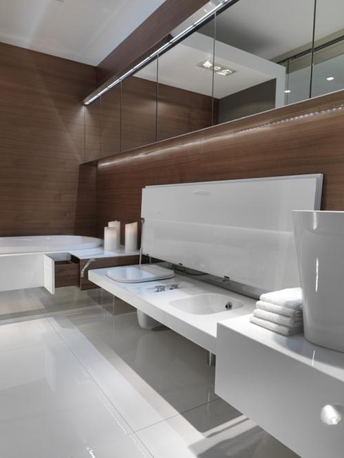 "Модульная ванна ""Level 45"" от Falper"