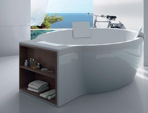 Круглая ванна от Roca