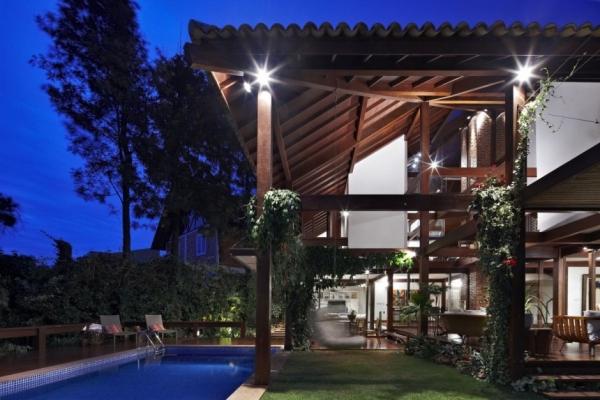 Бразильский дом-сад от David Guerra
