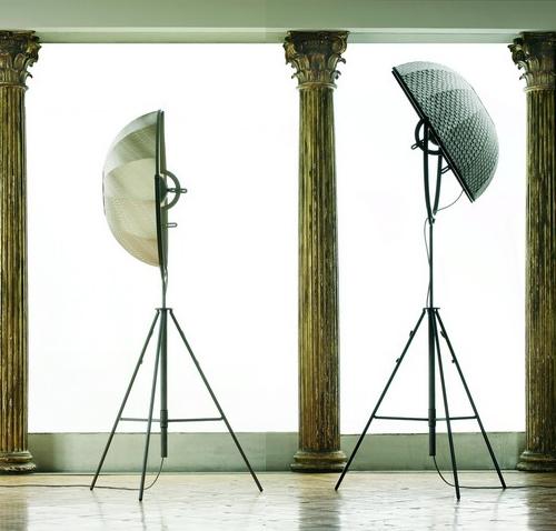 Перерождение лампы-треноги от Pallucco